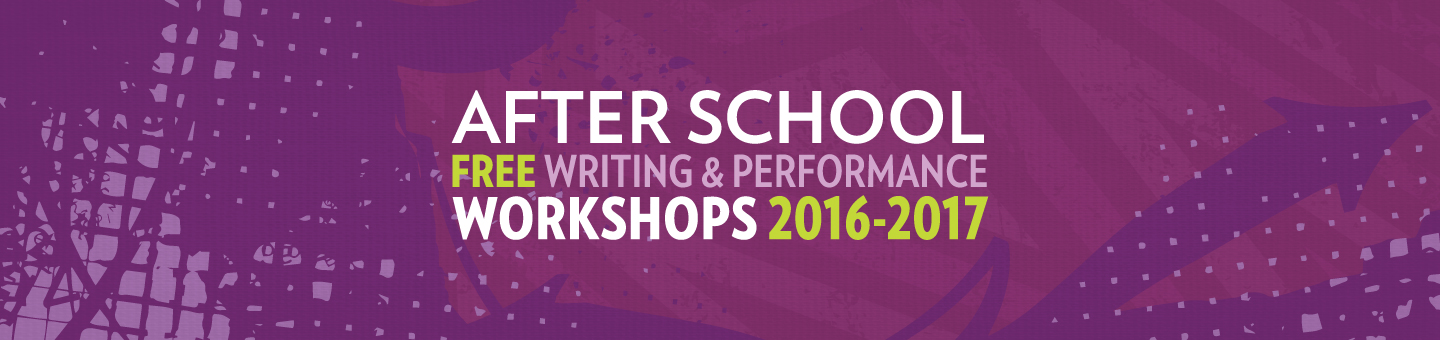 youth writing and performing workshops